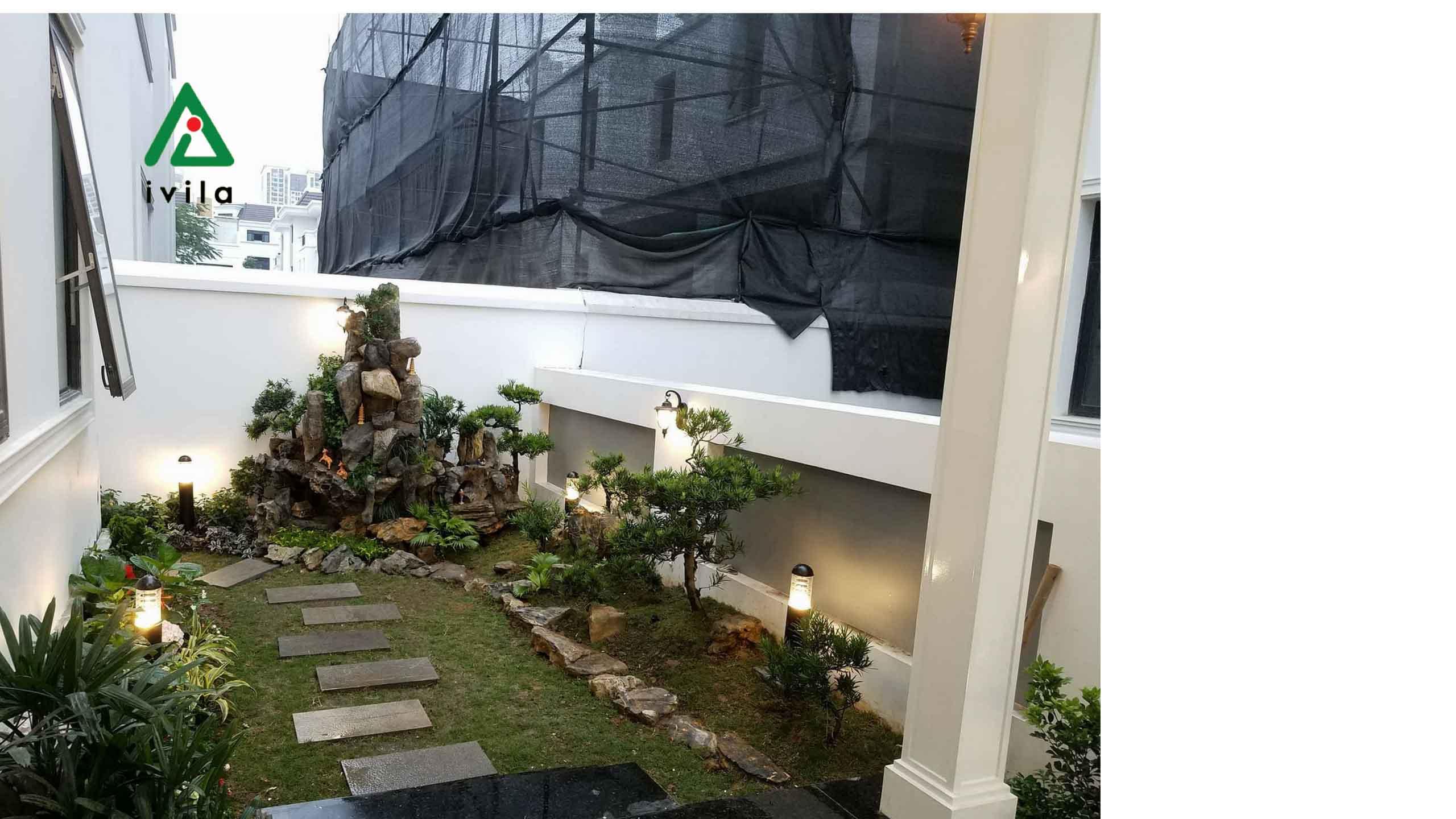 Hệ thống tưới nhỏ giọt vườn tường - Anh Hòa - Lưu Hữu Phước